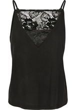 Urban Classics - Ladies Laces Triangle, Top