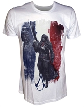 Assassins Creed United - French Flag, T-Shirt