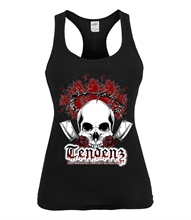 Tendenz - Skull, Girl-Top