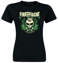 Foiernacht - Guitar, Girl-Shirt