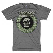Dropkick Murphys - Vintage Circle Skull, T-Shirt