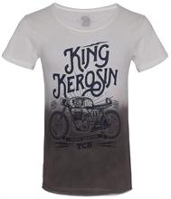 King Kerosin - TCB, T-Shirt batik schwarz