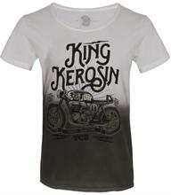 King Kerosin - TCB, T-Shirt batik oliv