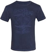 King Kerosin - Shovel Head, T-Shirt navy