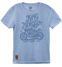 King Kerosin - TCB, T-Shirt blau
