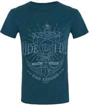 King Kerosin - Ride Till I Die, T-Shirt blau