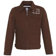 King Kerosin - Lumberjack Vintage-Canvas-Jacket