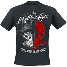 Five Finger Death Punch - Jekyll & Hyde, T-Shirt