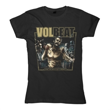 Volbeat - Seal The Deal & Lets Boogie Cover, Girl-Shirt