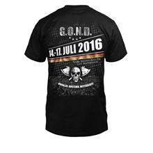 G.O.N.D. - 2016, Fußball Shirt