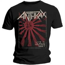 Anthrax - Live in Japan, T-Shirt