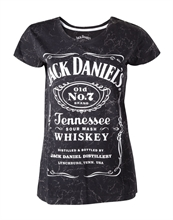 Jack Daniels - Old Nr. 7, Girl-Shirt
