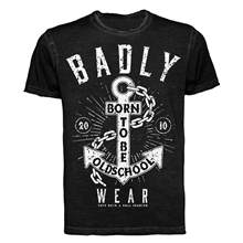 Badly - Born To Be Oldschool, Vintage T-Shirt