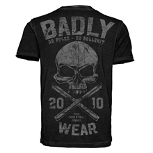 Badly - No Bullshit, Vintage T-Shirt
