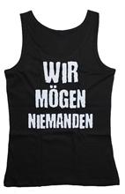 Böse Buben Club - Wir Mögen Niemanden, Girls Tank-Top