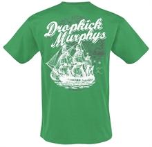 Dropkick Murphys - Scally Skull Ship, T-Shirt