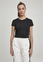 Urban Classics - Cropped Tee, Girl-Shirt