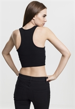 Urban Classics - Cropped Rib Top, Girl-Shirt