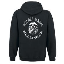 Wilder Mann - Logo, Kapuzenjacke