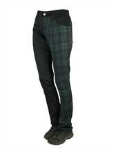 No Brands Required - Tartan, Frauenhose
