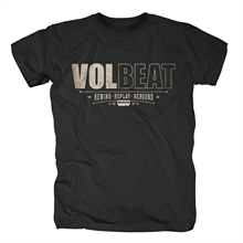 Volbeat - Distressed Logo, T-Shirt