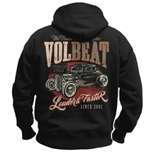 Volbeat - Louder & Faster, Kapuzenjacke