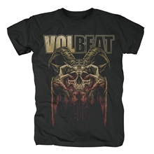 Volbeat - Bleeding Crown Skull, T-Shirt