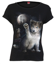 Spiral - Wolf Puppy, Girl-Shirt