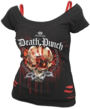 Five Finger Death Punch - Assassin, 2in1-Girl-Top