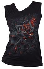 Spiral - Burnt Rose, Girl-Top