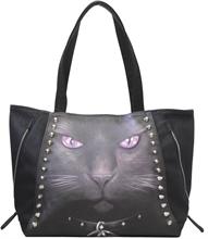 Spiral - Black Cat Tragetasche