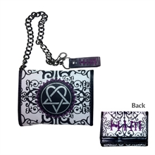 Him - Heartagram Geldbörse mit Metallkette