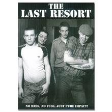 Last Resort - Band, Poster