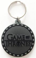 Game of Thrones - Logo, Gummischlüsselanhänger