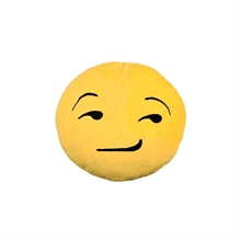 Emoji/Emoticon - freches Grinse Smiley, Kissen