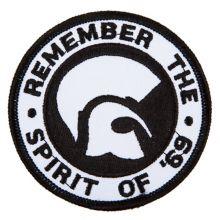 Remember the spirit of 69, Aufnäher