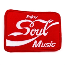 Soul Music - Enjoy , Aufnäher
