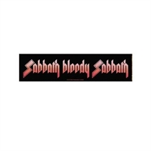 Black Sabbath - Bloody , Aufnäher