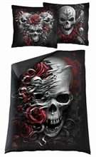 Spiral - Skulls N´ Roses, Bettwäsche