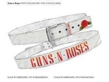 GunsNRoses - Schriftzug + Rose, Gürtel