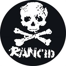 Rancid - Skull/Bones, Button