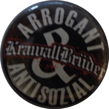 Krawallbrüder - Arrogant & Antisozial, Button