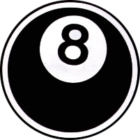 8-Ball, Button