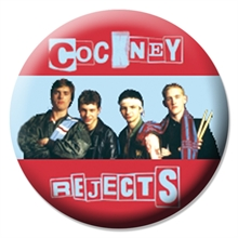 Cockney Rejects - Band, Button