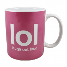 lol - laugh out loud - Tasse