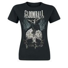 Gloomball - Bitter Place, Girl-Shirt