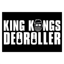 King Kongs Deoroller - Classic, Fahne