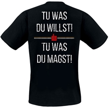 Artefuckt - Leb jeden Tag, T-Shirt