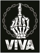 Viva - Fick dich, Aufnäher