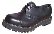 Steel - Full Black, 3-Loch Boots